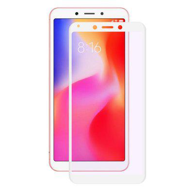 Hat - Prince Anti-blue-rays 3D 0.2mm 9H Carbon Fiber Tempered Glass Screen Protector Film for Xiaomi Redmi 6 / 6A