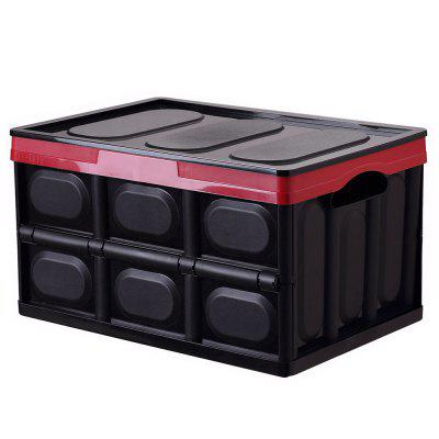 Multifunctional Foldable Plastic Storage Box for Home and Car Trunk Organizer