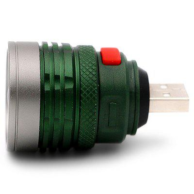 Brelong Lampe de Poche LED USB Portable Super Luminosité