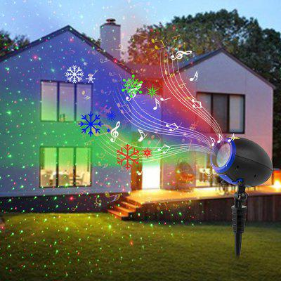BL - TY04 LED Music Laser Projection Light