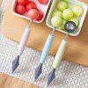 2-in-1 Dual-head Fruit Ball Carving Knife Melon Digger Scoop - ROBIN EGG BLUE