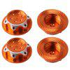 Anti-slip Dust-proof Nut 4pcs - PAPAYA ORANGE