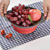 Creative Folding Fruit Vegetable Basket - RED