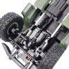 Mini RC Military Truck for over 7 Years Old People - ARMY GREEN