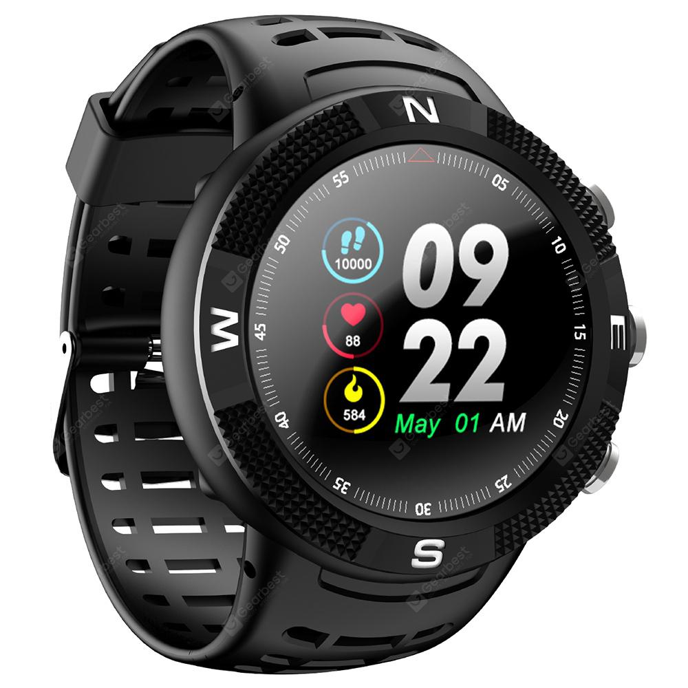 Gearbest NO.1 F18 GPS Sports Smartwatch - BLACK