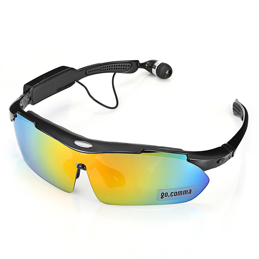 Gocomma LB014 Smart Bluetooth Sunglasses Headset - BLACK