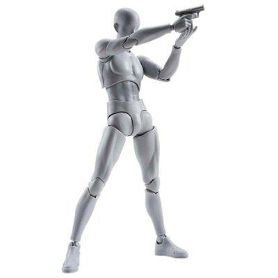 PVC Action Figure Collectible DIY Model Toy