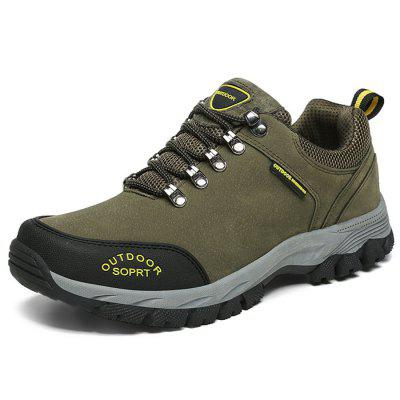 Men Outdoor Stylish Anti-slip Shock-absorbing Sneakers