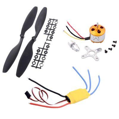 HONEST 1000KV Motor + Brushless ESC with Propeller