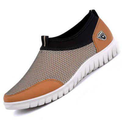 Men Breathable Mesh Casual Shoes Anti-slip Wear-resisting Sole