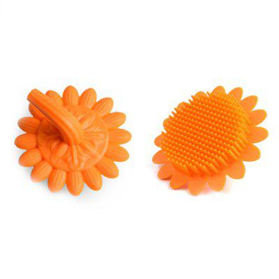 Infant Shampoo Shower Silicone Brush para limpieza