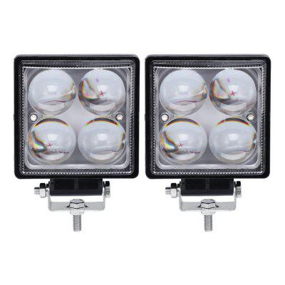 DY1920 20W LED Car Work Light for Vehicle / ATV / SUV / UTV 2pcs