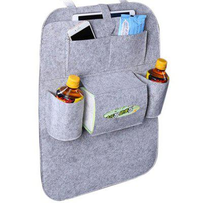 Multifunctional Felt Car Seat Back Storage Hanging Bag