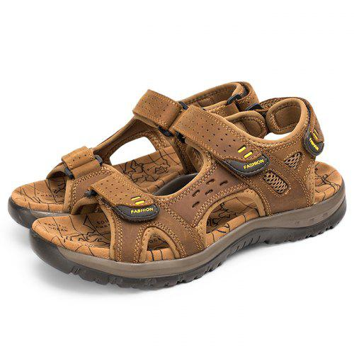 39fd399ed724 Fashion Breathable Outdoor Beach Casual Sandals for Men