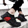 Round Toe All-match Breathable Fashion Outdoor Sports for Men - BLACK