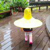 Creative Little Yellow Duck Raincoat Toy - YELLOW