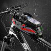 ROCKBROS Waterproof Saddle Bag Mobile Phone Bicycle for Cycling - BUTTERFLY BLUE