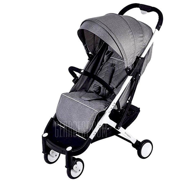 YOYAplus A09 Foldable Baby Stroller - GRAY CLOUD