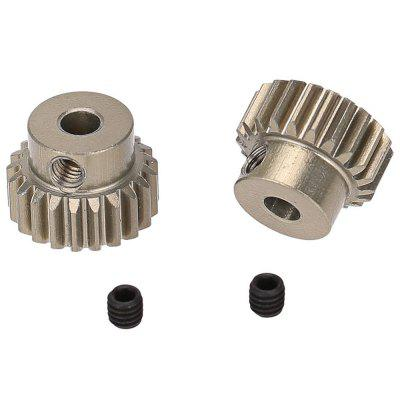 48DP 3.175mm 21T Pinion Gear for 1/10 RC Car Brushed Brushless Motor 2pcs монопод для селфи promate monopro 10 серый