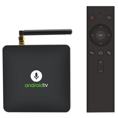 MECOOL KM8 Google Certified Android TV Box with Voice Remote