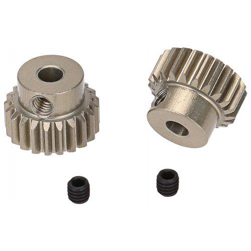 2pcs 3.175mm 17T Brass Motor Pinion Gear For RC Car Brushed Brushless Motors