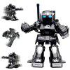 777 - 615 Battle RC Robot 2.4G Body Sense Remote Control - BLACK