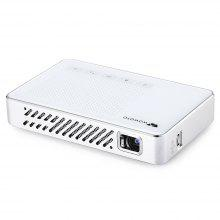 wowoto A5 Pro DLP Portable Projector Android 854 x 480 WiFi LED 500 Lumens - WHITE