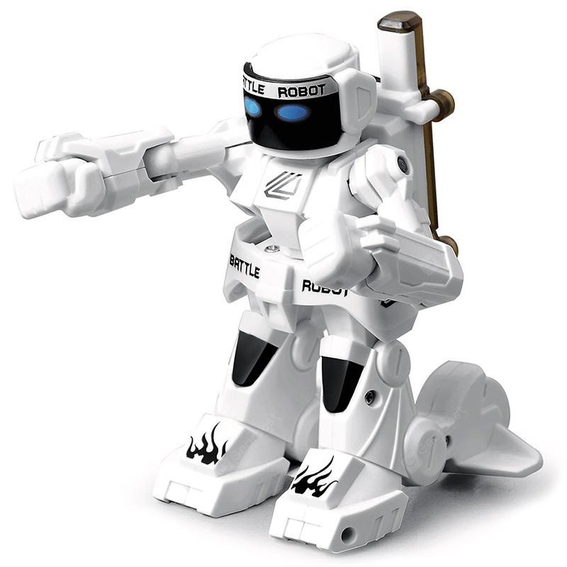777 - 615 Battle RC Robot 2.4G Body Sense Remote Control - White