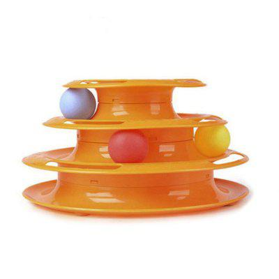 The Game Disc Pet Interactive Cats Toys for Playing