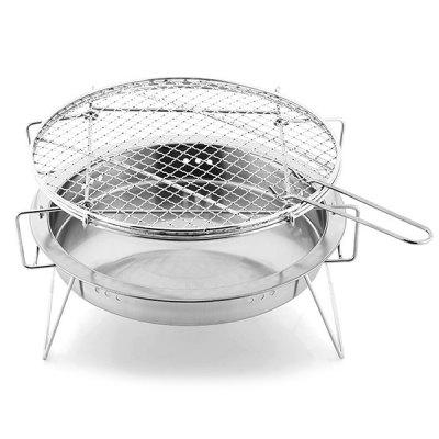 Stainless Steel Mini Portable Barbecue Grill