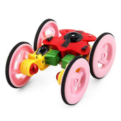 Rotating Light Rechargeable Remote Control Car Toys