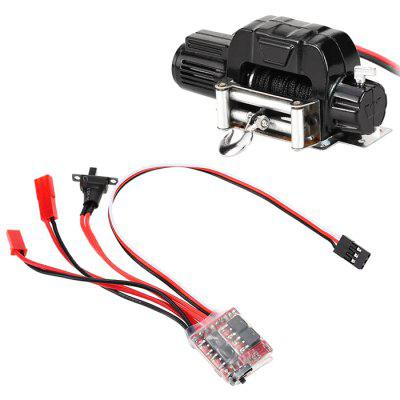 Winch 30A ESC for 1/10 RC Car Traxxas HSP Redcat RC4WD Tamiya Axial SCX10 D90 HPI