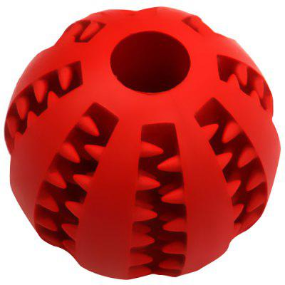 7cm Diameter Elastic Rubber Ball Dog Toys