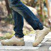 Men Outdoor Splicing Breathable Anti-slip Sports Shoes - LIGHT KHAKI