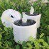 Creative ABS Solar Candle Light - WHITE