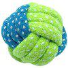 Durable Cotton Dog Rope Toy 4pcs - GREEN