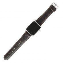 "42mm Leather Watchstrap for <span class=""es_hl_color"">Apple</span> Watch Series"