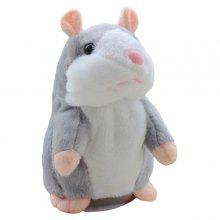 Cute Novelty Plush Talking Hamster Toy