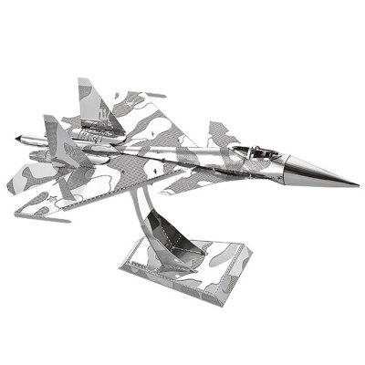 3D Metal Bomber Model Fit for Children