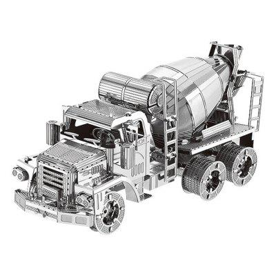 3D Metal Cement Mixer Model Puzzle Toy