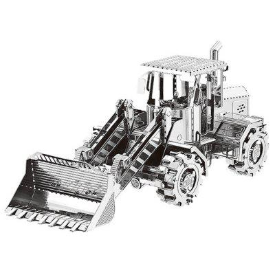 3D Metal Bulldozer Model Fit for Children