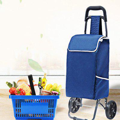 Foldable Labor-saving Three-wheeled Ladder Shopping Bag