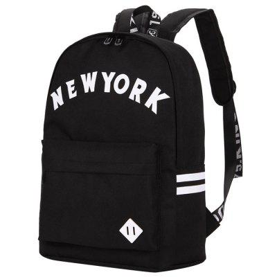 Fashion Casual Canvas Printing Backpack