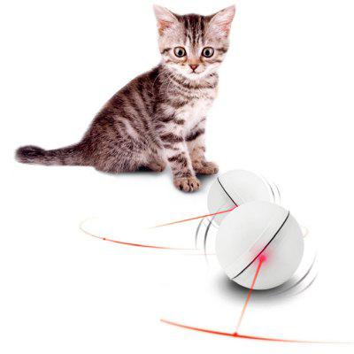 Cat Toy LED ABS Electric Rolling Pet Ball