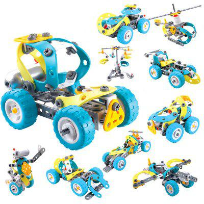 Electric Motor Building Block Toy for Children MULTI A