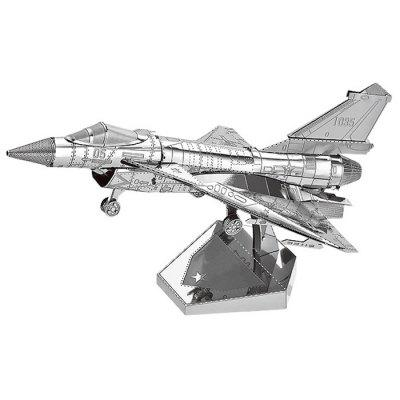 3D Metal Jigsaw Fighter Plane Puzzle Toy Model