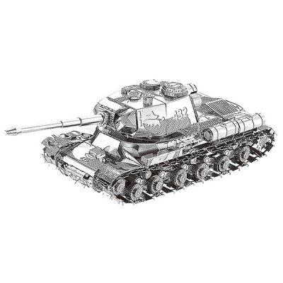 3D Metal Jigsaw Heavy Tank Puzzle Model Toy