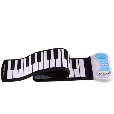 Kids Portable Trendy 49 Keys Roll-up Keyboard Piano