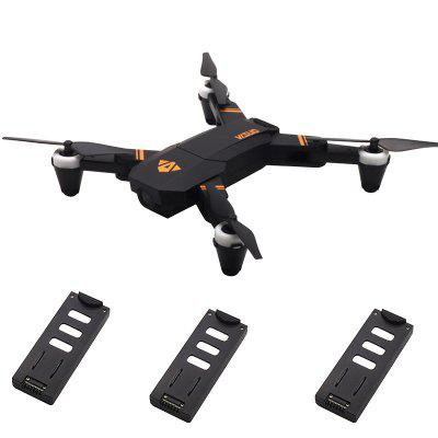 TIANQU VISUO XS809 Mini Drone RC Pliable Maintien d'Altitude / Mode Sans Tête