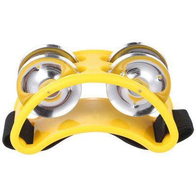 Foot Tambourine Rattle Percussion Accessory